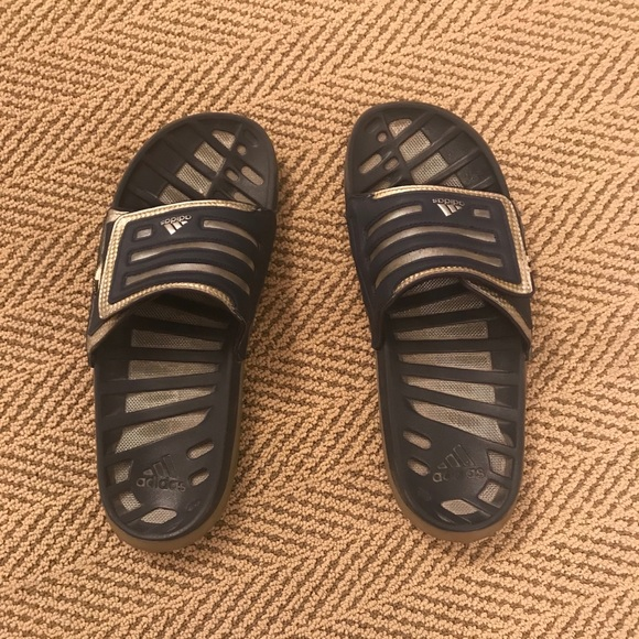 457c5782c adidas Other - VNTG 90 s Adidas Slides 9 men s   10-11 W